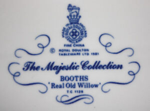 Royal Doulton - The Majestic Collection Booths Real Old Willow T