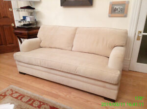 Superior Montauk pristine double sofa bed $$ negotiable