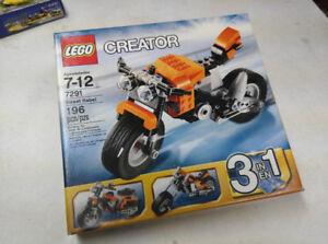 Lego Creator Street Bike #7291 Sealed
