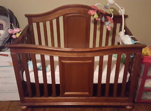 4 in 1 crib with sealy mattress