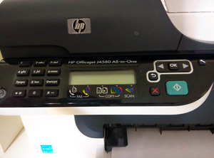HP 4 in 1 printer, scanner, copy and fax machine