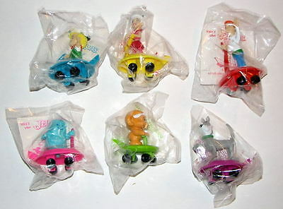 The Jetson Kids (WENDY'S: MEET THE JETSON'S SET of 6 KID MEAL TOYS 1990)