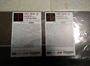 TFC tickets x2 for 220.00 Aug 12 vs Portland timbers