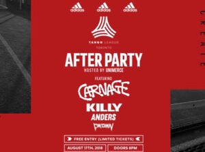 Adidas Tango League Afterparty tickets