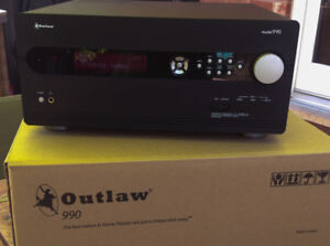 Outlaw Audio Model 990 AV Pre-Amp Processor - 7.1 Home Theater