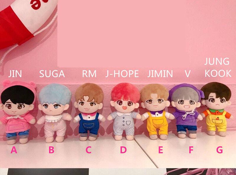 BTS Special Bobi Plush V JIMIN SUGA RM JUNGKOOK J-HOPE Doll