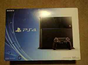 Brand New Sony Play Station 4 With 3 Extra Controller