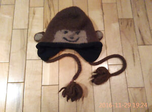 Cute winter hat for boy - 2-3 years old