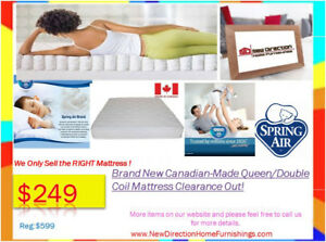 ◆Boxing Day In July Sale◆Brand New Canadian-Made Queen Mattress◆