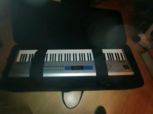 Alessis 88 hammer keys with case and all sound cards