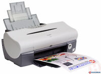 Working Canon i560 color inkjet printer free to good home