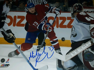 Michael Ryder Signed Montreal Canadiens photo