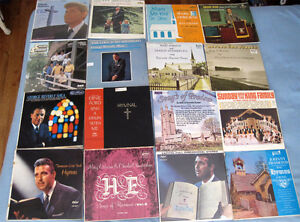 Vintage RELIGIOUS LP Records - Marg Osburne George Beverly Shea