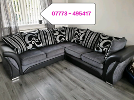 ☑️☑️ Shannon Corner Or 3+2 seater Sofa Sale ☑️☑️