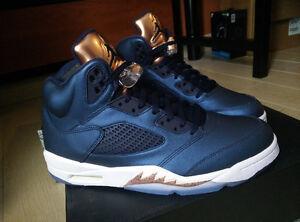 New Jordan Retro 5 Bronze Size 11