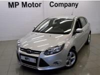 2014 14 FORD FOCUS 1.6 ZETEC 5D 6SP 124 BHP AUTOMATIC SPORTY HATCH,18-000M FSH,