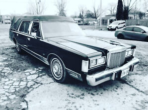 Lincoln towncar Hearse carriage forsale