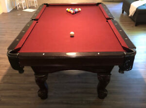 Beringer pool table  ***MOVING SALE***