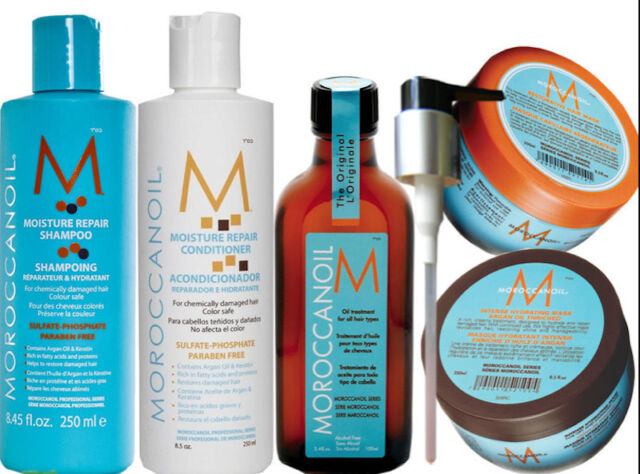 Moroccan Oil DELUXE Value Pack - 5 Brand New Items!