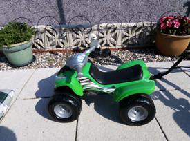 Quad bike, toddler