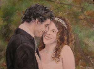 Get your Wedding Photo Painted