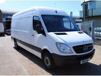 2012 - MERCEDES SPRINTER 313 LWB, HIGH ROOF, ONE OWNER & FULL SERVICE HISTORY