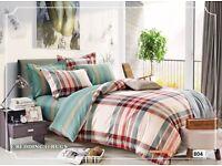 100% cotton bedding set brand new