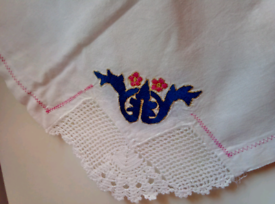 Table cloth / handmade apron 33x33 Inc (84x84cm)