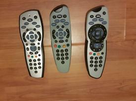 Genuine / Original Sky Remote Controls (£2 each)