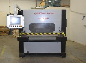 """QUICKWOOD PRO 1100 SANDER * YR 2006 43"""" WIDE * AT AUCTION"""
