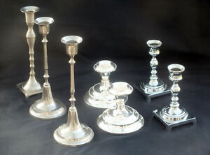 Assorted Candelabras and Candlesticks $70 the lot Cornwall Ontario image 2