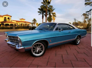 Looking for a chevy 454ss or a ford galaxie 500(2door)