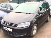 VOLKSWAGEN SHARAN 2.0 SE TDI 7 seater Elec Doors Black Manual Diesel, 2011