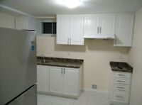 MIDLAND /BROADBENT NEWLY CONSTRUCTED BRIGHT 2 BEDROOM BASEMENT