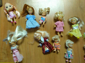 11 mini barbies and dolls Gatineau Ottawa / Gatineau Area image 3