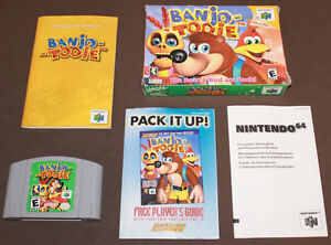 Boxed N64 Games & Accessories
