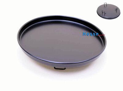 Backblech/Pizzateller 11012628 schwarz für Mikrowellenteller 27 cm Durchmesser