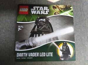 Lego Darth Vader LED table lite New Sealed