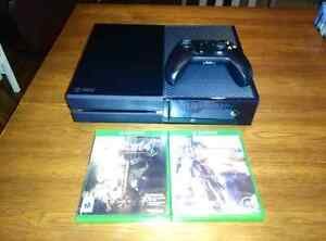 Xbox One 500Gb + 2 games