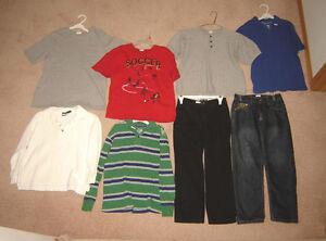 Boys Clothes, Jackets - sizes 7/8, 8, 10, 12 / Shoes sz 5, 6, 7