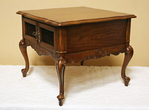 Brilliant Oak French Side Tables & Coffee Table Set SEE VIDEO