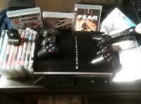 PS3, Fully loaded.+10 games, camera and Play Station Move kit