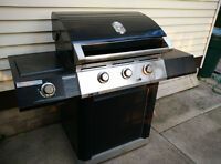 Natural Gas BBQ, rarely used
