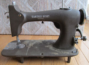 electric vintage sewing machine Seamstress Rotary reversew