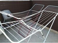Clothes drying airer rack