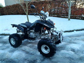 Road legal quad ONLY DRIVEN 8 MILES!
