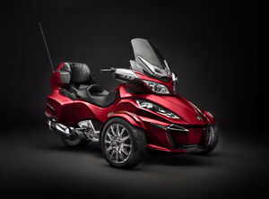 2016 Can Am Spyder RT-Ltd 1330 Triple / Demo Unit (Red)