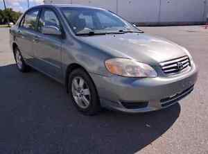 2003 Toyota corolla LE *newly safety*. $3850