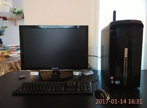 Upgraded Gateway DX4831-07C Desktop Gaming PC (Black)