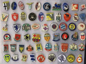 European Soccer Football Club Pins UK, Italy, Spain, Germany...